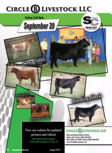 Circle B Livestock Online Calf Sale @ Robinson | Illinois | United States