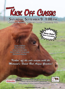 Kick Off Classic Red Angus Sale @ Knoxville | Iowa | United States