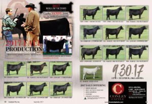 Conley Cattle Fall Production Sale @ Sulphur | Louisiana | United States