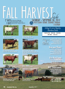 Fall Harvest sale @ Columbus | Nebraska | United States
