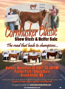 Cornhusker Classic Show Steer & Heifer Sale @ Fonner Park - Sheep Barn | Grand Island | Nebraska | United States