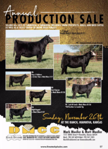 DMCC Annual Production Sale @ DMCC | Hiawatha | Kansas | United States