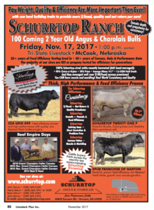 Schurrtop Ranch Production Sale @ Tri-State Livestock | McCook | Nebraska | United States