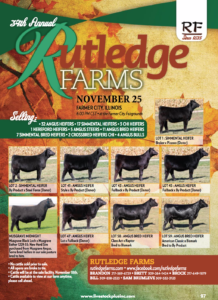 34th Rutledge Farms Annual Sale @ Farmer City Fairgrounds | Farmer City | Illinois | United States