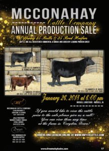 Mcconahay Cattle Company Annual Production Sale @ Russell Livestock  | Russell | Iowa | United States