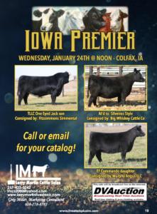 Iowa Premier Sale @ Colfax, Iowa