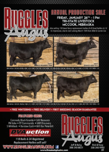 Ruggles Angus Annual Production Sale @ Tri-State Livestock  | McCook | Nebraska | United States
