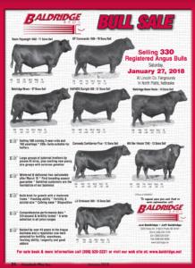 Baldridge Bull Sale @ Lincoln Co. Fairgrounds | North Platte | Nebraska | United States