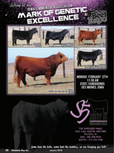 Iowa Simmental Association Mark of Genetic Excellence @ Iowa State Fairgrounds  | Des Moines | Iowa | United States