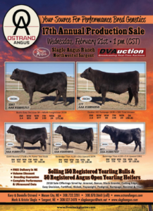 17th Annual Production Sale Ostrand Angus @ Slagle Angus Ranch | Sargent | Nebraska | United States