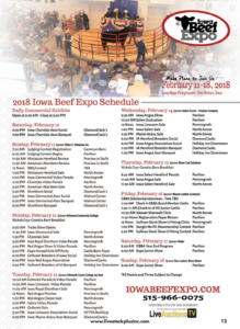 Iowa Beef Expo @ Iowa State Fairgrounds | Des Moines | Iowa | United States