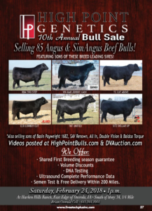 High Point Genetics 10th Annual Bull Sale @ Harken Hills Ranch | Osceola | Iowa | United States