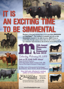 45th Annual Minnesota State Simmental Sale 2018 @ Haas Livestock Auction | Cannon Falls | Minnesota | United States