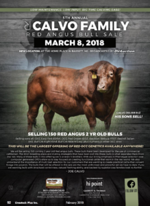 Calvo Family Red Angus Bull Sale @ At the ranch | Bassett | Nebraska | United States