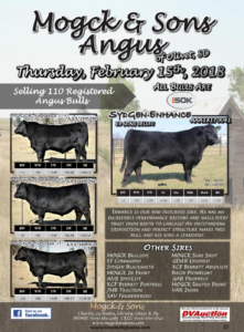 Mogck & Sons Angus Bull Sale @ Mogck & Sons Angus | Olivet | South Dakota | United States