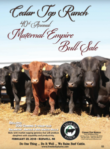 40th Annual Maternal Empire Bull Sale @ Cedar Top Ranch | Burwell | Nebraska | United States
