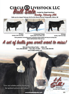 Circle B Livestock Bull Sale @ Boone County Fairgrounds | Albion | Nebraska | United States