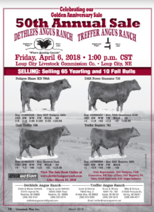 50th Annual Sale @ Loup City Livestock Commission Co | Loup City | Nebraska | United States