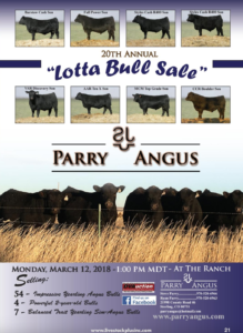 20th Annual Lotta Bull Sale @ At the ranch | Sterling | Colorado | United States