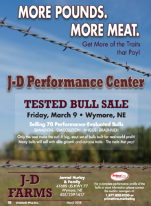 J-D Farms Tested Bull Sale @ At the farm | Wymore | Nebraska | United States