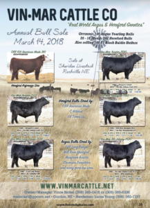 Vin Mar Cattle Co Annual Bull Sale @ Sheridan Livestock  | Rushville | Nebraska | United States