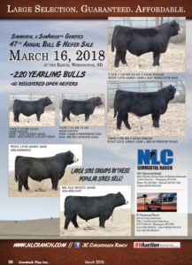 NLC 47th Annual Bull & Heifer Sale @ At the ranch | Wessington | South Dakota | United States