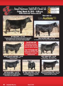 Marshall & Fenner Farms Annual Performance Tested Bull & Female Sale @ Mid-Mo Livestock Center   Marshall Junction   Missouri   United States