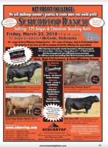 Schurrtop Ranch Sale @ Tri-State Livestock | McCook | Nebraska | United States