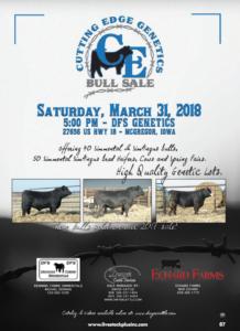 Cutting Edge Genetics Bull Sale @ DGS Genetics | McGregor | Iowa | United States