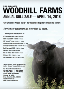 Woodhill Farms Annual Bull Sale