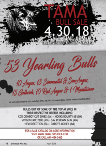 TAMA Bull Sale @ TAMA Livestock Auction | Tama | Iowa | United States
