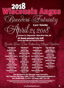 2018 Wisconsin Angus Breeders' Futurity @ Jackson Co. Fairgrounds | Black River Falls | Wisconsin | United States