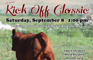 Red Angus Kick Off Classic @ Knoxville Regional Livestock Market | Knoxville | Iowa | United States