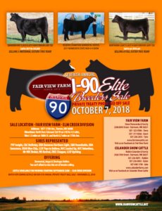Fairview Farm I-90 Breeders Sale @ Truman | Minnesota | United States