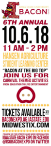 ISU Bacon Expo @ Hansen Agriculture Student Learning Center | Ames | Iowa | United States