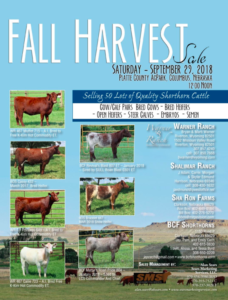 Fall Harvest Sale @ Platt County AgPark | Columbus | Nebraska | United States