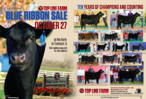 Top Line Farm Blue Ribbon Sale @ at the farm | Tremont | Illinois | United States