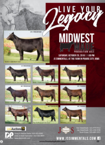 Midwest Made Production Sale @ At the farm | Prairie City | Iowa | United States
